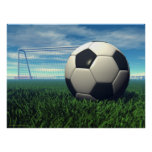Fußball (Fußball) Plakate