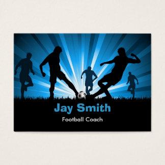 Fußball-/Fußball-Visitenkarte Jumbo-Visitenkarten