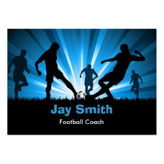 Fußball-/Fußball-Visitenkarte Mini-Visitenkarten