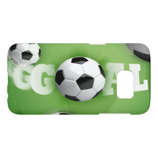 Fußball-Fußball-Ziel - Kasten Samsung-Galaxie-S7