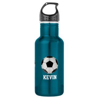 Fußball-Gewohnheit Trinkflasche