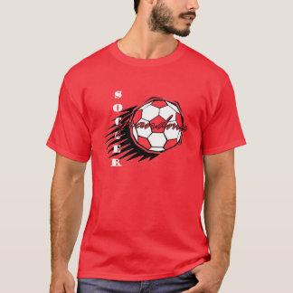 Fußball-Großmutter-T-Stück T-Shirt