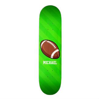 Fußball; Grüne Neonstreifen Individuelles Deck