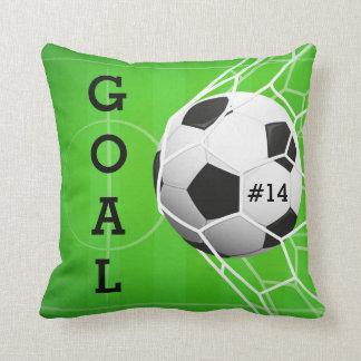 Fußball im Netz - ZIEL Kissen