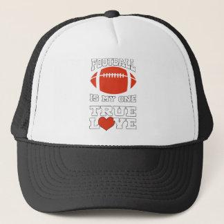 Fußball ist mein ein wahre Liebe-großes Geschenk Truckerkappe