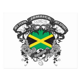 Fußball Jamaika Postkarte