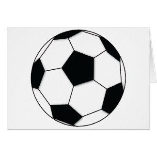 Fußball Grußkarte