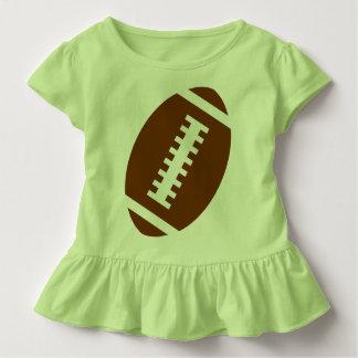 FUSSBALL-KLEINKIND Limone   vordere Fußball-Grafik Kleinkind T-shirt