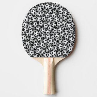 Fußball-Klingeln Pong Paddel Tischtennis Schläger
