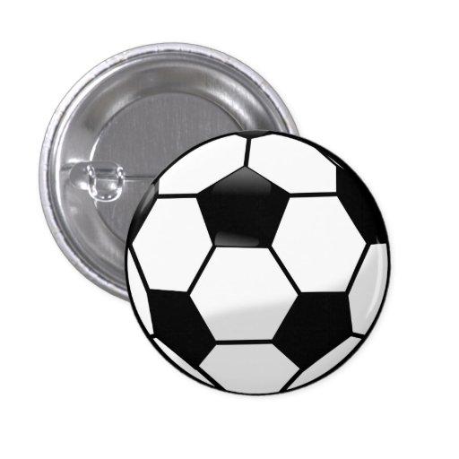 Fußball-Knopf Button