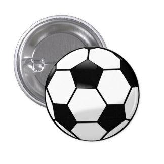 Fußball-Knopf Runder Button 2,5 Cm