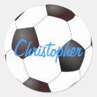 Fußball - kundengerecht runder aufkleber