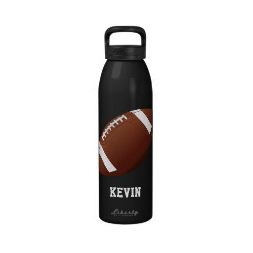 Fußball-kundenspezifische Wasser-Flasche Wiederverwendbare Wasserflaschen