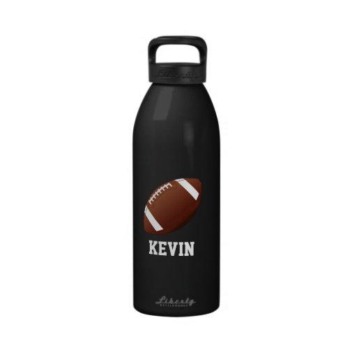 Fußball-kundenspezifische Wasser-Flasche Wasserflasche