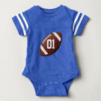 Fußball-kundenspezifischer Baby-Jersey-Spielanzug Babybody