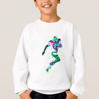 Fußball-Läufer-Grün Transp das MUSEUM Zazzle GIF Sweatshirt
