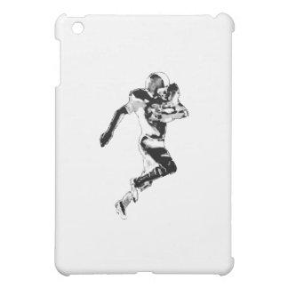 Fußball-Läufer-Schwarzes Transp das MUSEUM Zazzle iPad Mini Schale