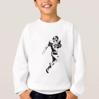 Fußball-Läufer weißes Transp das MUSEUM Zazzle GIF Sweatshirt