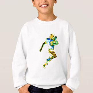 Fußball-Läufer YellowTransp das MUSEUM Zazzle GIF Sweatshirt