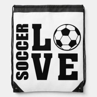 Fußball-Liebe, Fußball-Tasche Sportbeutel