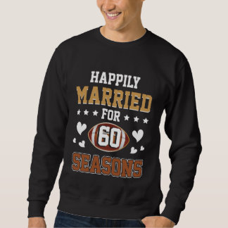 Fußball-Liebhaber-T-Stück. 60. Jahrestags-T-Stück Sweatshirt