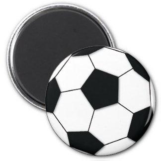 Fußball Runder Magnet 5,1 Cm