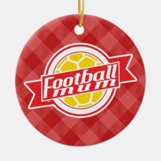 Fußball-Mama-Dekoration Keramik Ornament