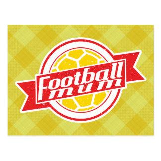 Fußball-Mama Postkarte