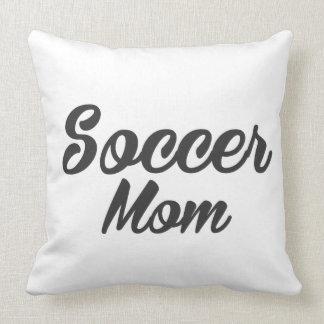 Fußball-Mamma-Druck Kissen