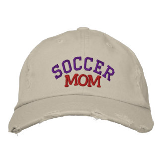 Fußball-Mamma gestickter Hut