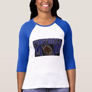 FUSSBALL-MAMMA mit Bling Mode-Shirt T-Shirt