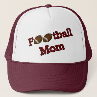 Fußball-Mamma niedlich Truckerkappe