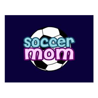 Fußball-Mamma Postkarte