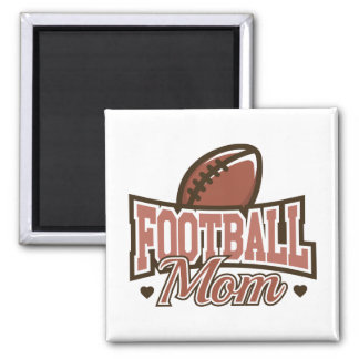 Fußball-Mamma Quadratischer Magnet