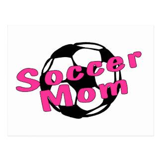 Fußball-Mamma (Rosa) Postkarte