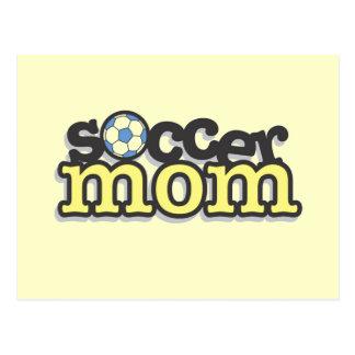 Fußball-Mamma-T - Shirts und Geschenke Postkarte