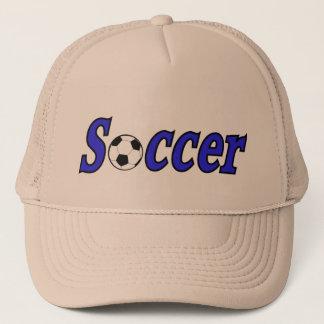 Fußball mit Ball Truckerkappe