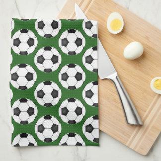Fußball-Muster Handtuch