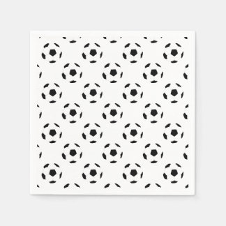 Fußball-Muster Servietten