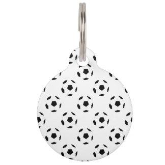 Fußball-Muster Tiernamensmarke