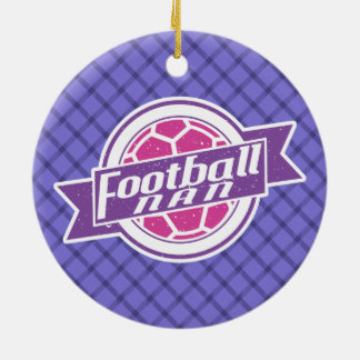Fußball Nan (Großmutter) Keramik Ornament