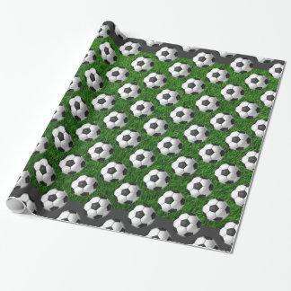 Fußball-Packpapier Geschenkpapier