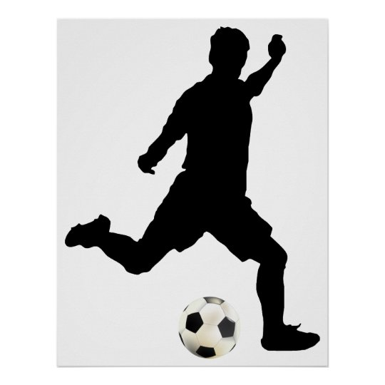 Fußball-Plakat Poster