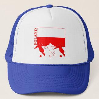 Fußball Polen Truckerkappe