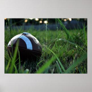 Fußball Plakatdruck