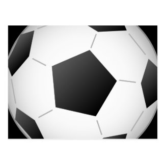 Fußball Postkarte