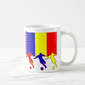 Fußball-Rumänien-Tasse Tasse