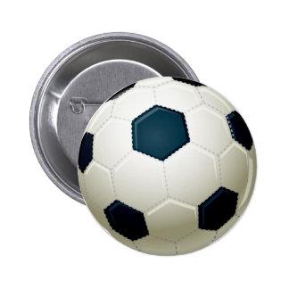 FUSSBALL RUNDER BUTTON 5,7 CM