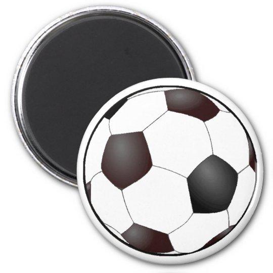 Fussball Runder Magnet 5,1 Cm