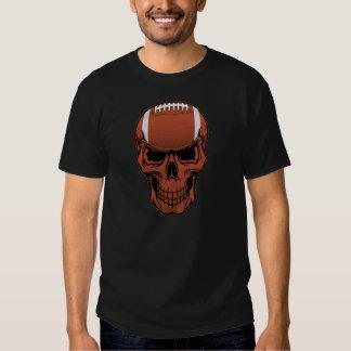 Fußball-Schädel T-Shirts